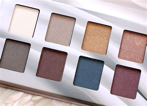 La Colors Matte Eyeshadow Suede the shimmery toned eyeshadows in the nyx suede