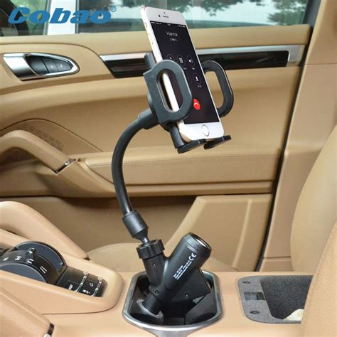 Premium Holder Mobil Universal Mobil Car Holder 4 5 5 7 Inch cobao universal dual usb car charger mount cell mobile