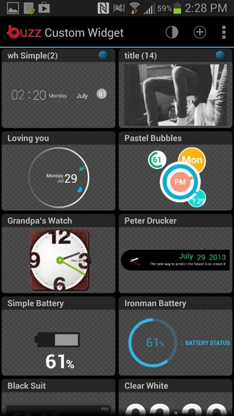 40 000 ways to customize the android home screen on your