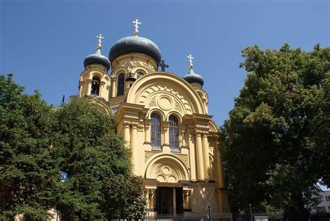 eglise orthodoxe sainte marie madeleine  varsovie une
