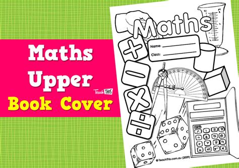 printable maths games for upper primary maths upper book cover printable book covers for