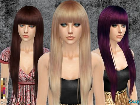 the sims 2 downloads fringe hairstyles cazy s izzy female hairstyle