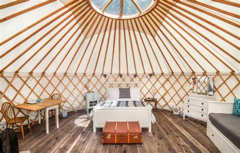 Shabby Chic Interiors Larch Yurt The Yurt Retreat