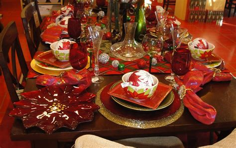 christmas dinner table settings christmas table decoration instyle fashion one