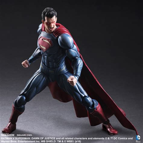 e figure superman figure by square enix sideshow collectibles