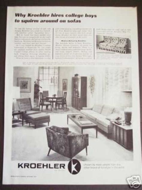 ebay home decor vintage furniture ads of the 1960s