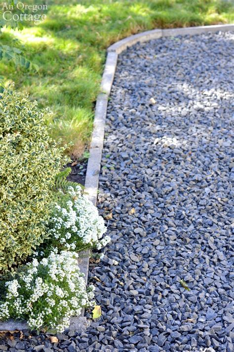 easy inexpensive cement garden edging  beds paths