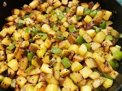 Versatile Side Home Fries by Spicy Potato Stir Fry Versatile Foodie
