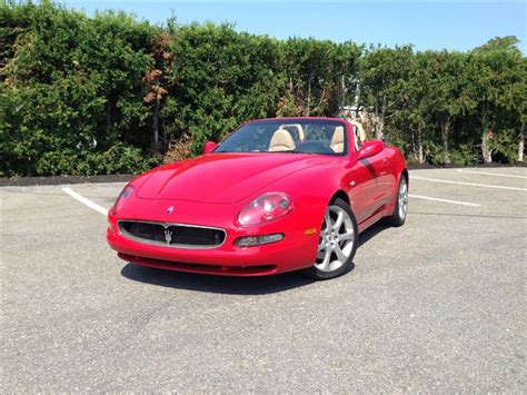 2002 Maserati Spyder For Sale by 2002 Maserati Spyder For Sale In Waltham Ma