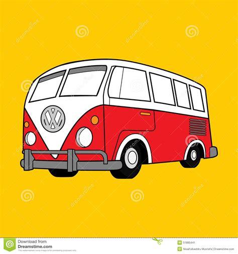 imagenes vintage de vw vector illustration classic volkswagen van editorial photo