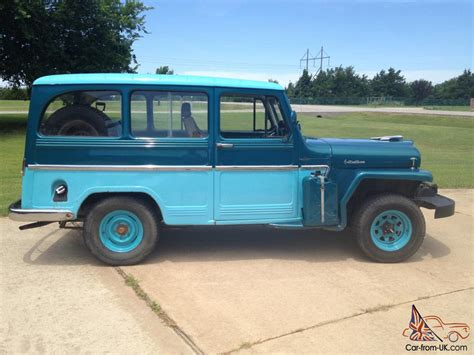 jeep station wagon 1961 willys station wagon 4x4