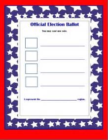 election ballots template election ballot template cake ideas and designs