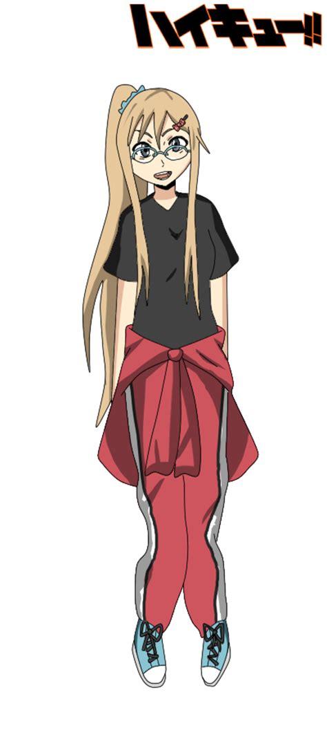 concerned sister by shiiazu on deviantart haikyuu oc shimizu junko by kazumi senpai on deviantart