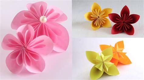 How To Make Kusudama Paper Flowers - kusudama origami tributary kusudama tutorial kusudama