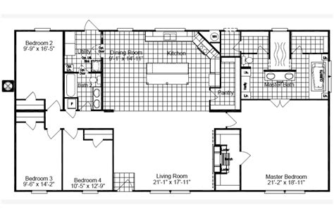 palm harbor mobile homes floor plans view the magnum floor plan for a 1980 sq ft palm harbor