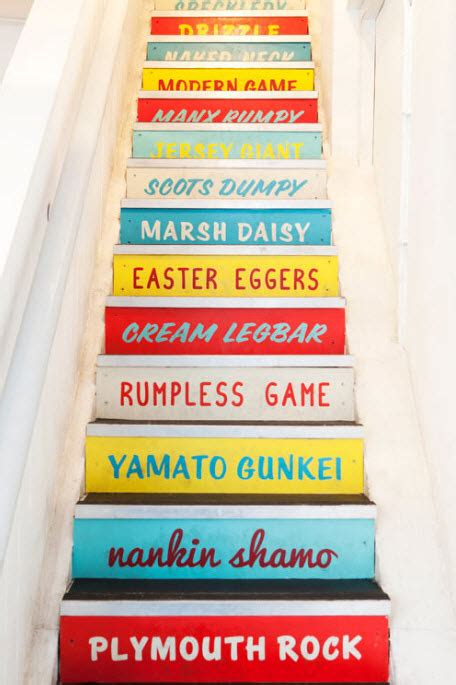 7 Accessories To Spice Up Your School by 187 Colorful Staircases To Spice Up Your House 12 At In