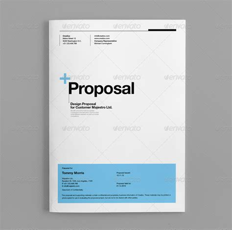 graphic design proposal template doc proposal by egotype graphicriver
