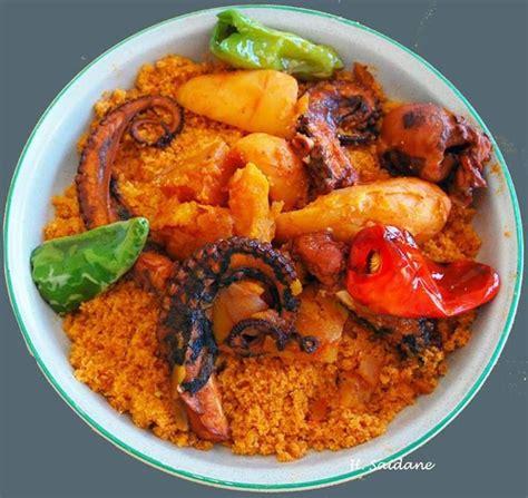 recette cuisine couscous tunisien couscous poulpes plat principal couscous