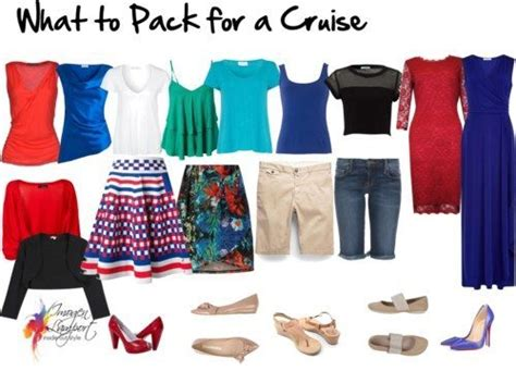 Cruise Wardrobe - how to pack a wardrobe capsule for a cruise