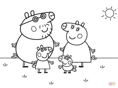 peppa pig drawing templates peppa pig drawing templates peppa pig coloring pages