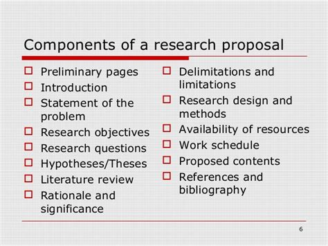 developing effective research proposal
