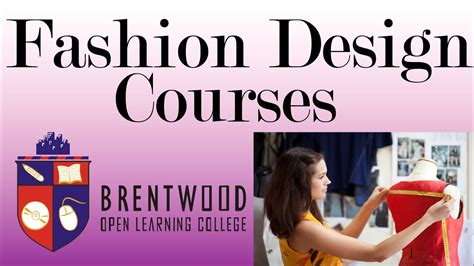 typography course accredited fashion design courses study start