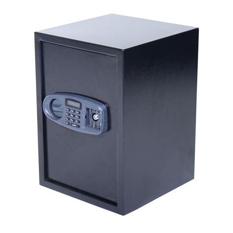 homcom digital 3 tier home security safe black