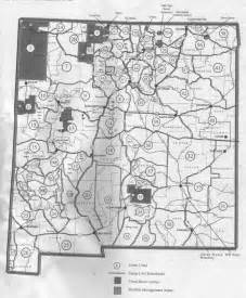 New Mexico Unit Map by New Mexico Hunting Maps Submited Images