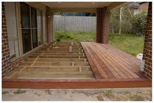 decking concrete patio amazing wood patios and decks and wood deck concrete