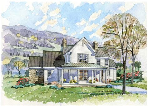 southern farmhouse plans farmhouse home plans