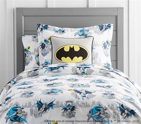 cityscape bedding batman cityscape duvet cover pottery barn kids