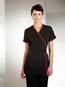 Beautician uniforms offer distinguished look to hairstylists