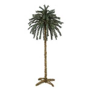 7 artificial palm tree with lights christmas tree shops