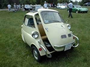 soooo bmw isetta this is a micro car with 3 wheels
