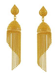 fancy jhumka earrings 22k gold fancy jhumka earring for meenajewelers indian calcutti jewellery