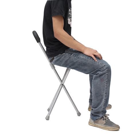 portable walking chair singapore ipree outdoor travel folding stool chair portable tripod