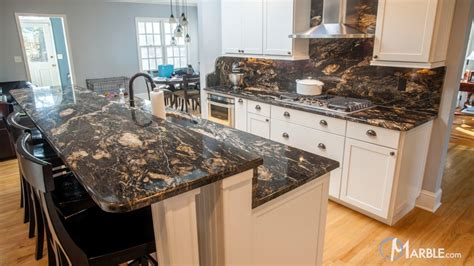 Black Granite Kitchen by Titanium Black Granite Kitchen Countertops
