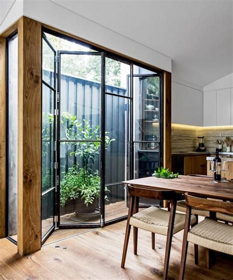 Dining Room Doors With Glass Adrian Architects Interiors