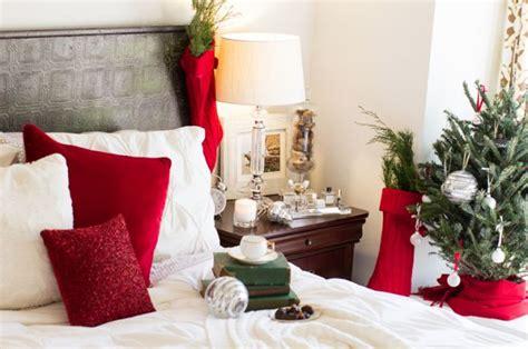 decori da letto decorazioni natalizie per la da letto