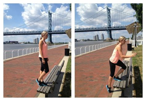 park bench workouts wonderfully made summer workouts park bench