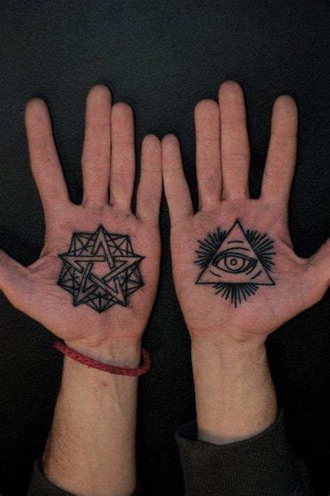 eye tattoo on palm meaning eye tattoos and designs page 110