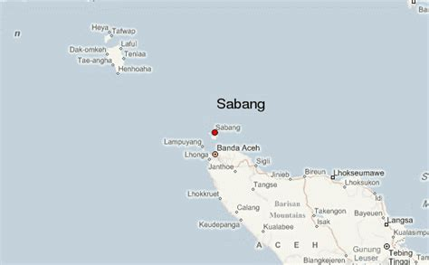 Sabang Location Guide