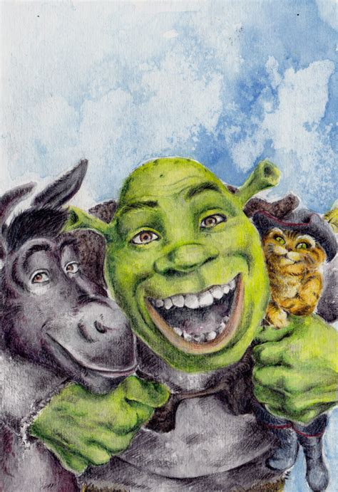 painting shrek shrek by specialneeds0468 on deviantart
