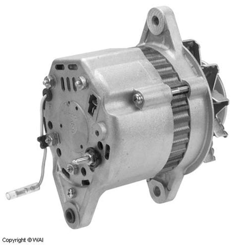 hitachi type alternator  amp volt cw  groove pulley