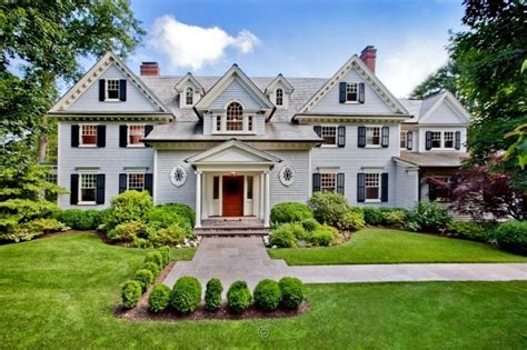 breathtaking traditional colonial in westport ct homes