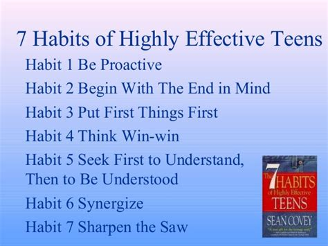 7 habits of highly effective book report the seven habits of highly effective book report
