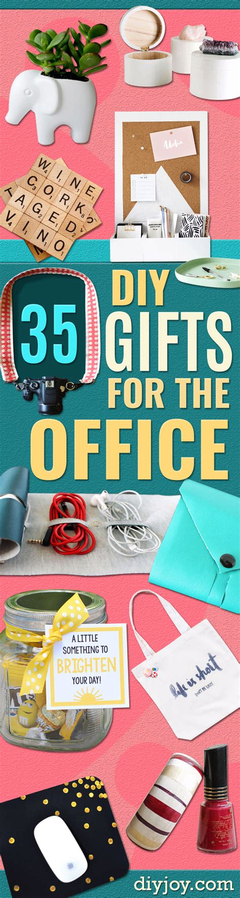 35 cheap and easy gifts for the office diy joy
