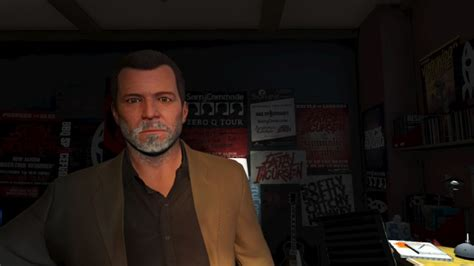 hairstyles and beards gta v michael got old looks like he s 60 page 2 gta v