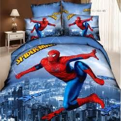 Spiderman Double Duvet Cover Blue Spider Man Duvet Quilt Cover Full Queen Size Bedding