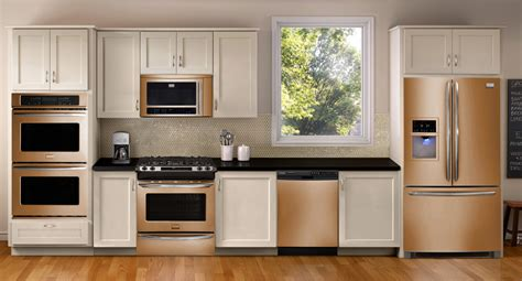 kitchen appliance finishes whirlpool sunset bronze the new stainless steel bronze